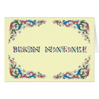 Buonのnatale - Florenciaのデザイン カード