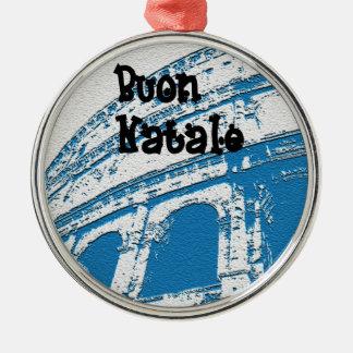 Buon青いNataleのオーナメント メタルオーナメント