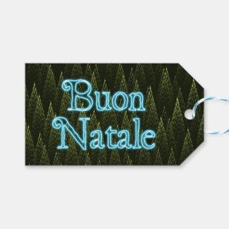 Buon Natale -針葉樹 ギフトタグ
