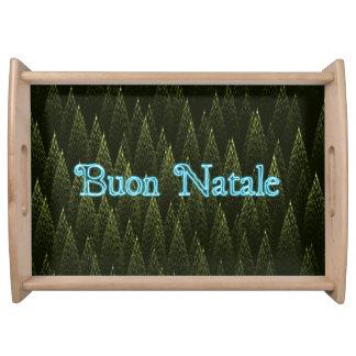 Buon Natale -針葉樹 トレー