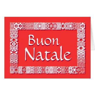 Buon Natale Biglietto Di Auguri - cartaのSaluto カード
