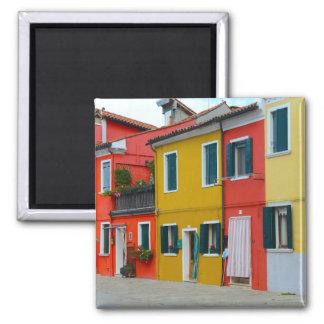 Buranoイタリアの建物 マグネット