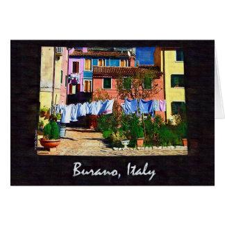 Buranoイタリア カード