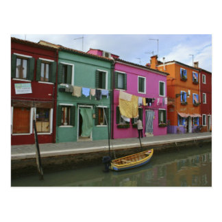 Burano、イタリア ポストカード