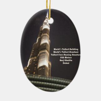 Burj Khalifaの世界で最も高い建物、ドバイ セラミックオーナメント