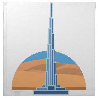 Burj Khalifaドバイ ナプキンクロス