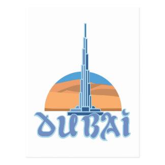 Burj Khalifaドバイ ポストカード