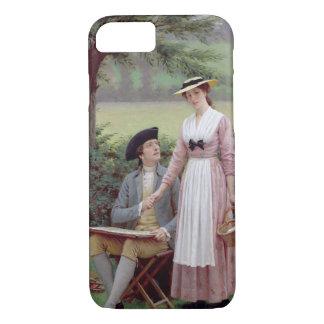 BurleighのTennyson 1919年、主(canvaの油 iPhone 8/7ケース
