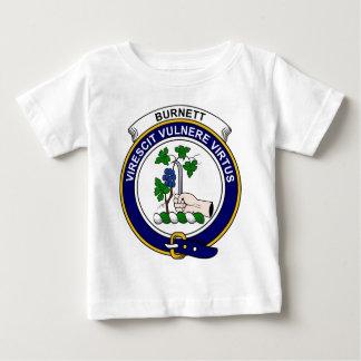 Burnettの一族は記章を付けます ベビーTシャツ