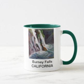 Burneyの滝、カリフォルニアマグ マグカップ