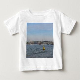 Burnhamのヨット港への入口 ベビーTシャツ