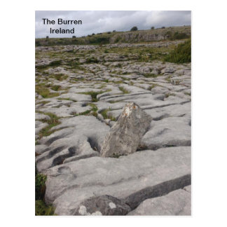 Burren、Co.ドクレア、アイルランド ポストカード