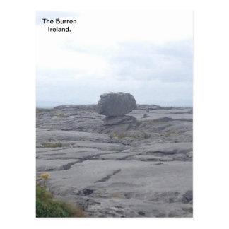 Burren、Co.ドクレア、アイルランドA ポストカード