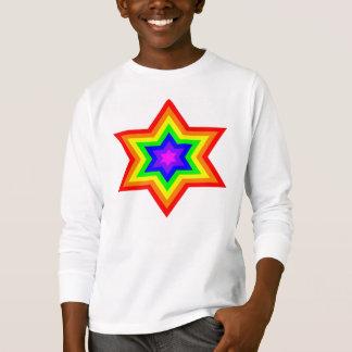 Burst™の明るい女の子のTagless LongsleeveのTシャツ Tシャツ