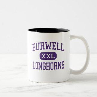 Burwell -長角牛-高Burwellネブラスカ ツートーンマグカップ