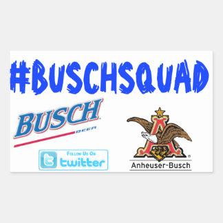 BuschSquad 長方形シール