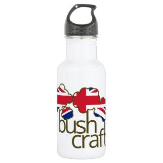 Bushcraftイギリスの旗 ウォーターボトル