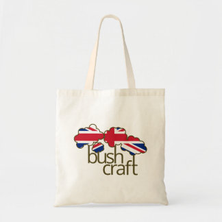 Bushcraftイギリスの旗 トートバッグ