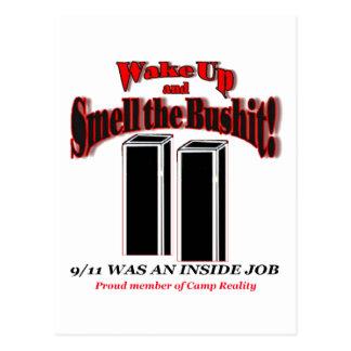 Bushit 911枚のカード ポストカード