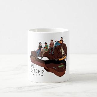 Busksの余分な小銭のクラシックで白いマグ コーヒーマグカップ