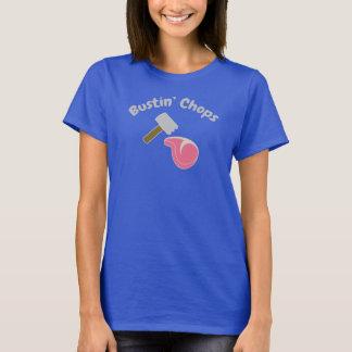 Bustinのチョップはおもしろいです! Tシャツ