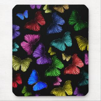 Buterflyの蝶 マウスパッド
