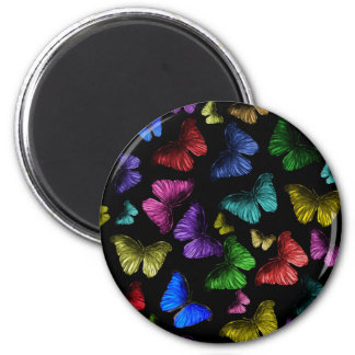 Buterflyの蝶 マグネット