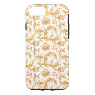 Buttercreamの黄色い花の華麗さの花 iPhone 8/7ケース