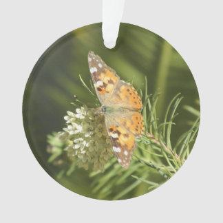 Butterfly色彩の鮮やかな女性 オーナメント