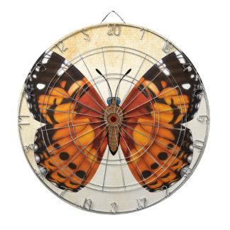 Butterfly色彩の鮮やかな女性 ダーツボード