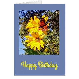 Butterfly Birthday カード