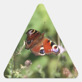 Butterflying 三角形シール