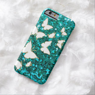 Butterlyのきらきら光るなスタイル Barely There iPhone 6 ケース
