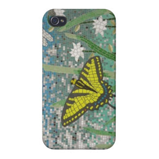 ButterlyのモザイクiPhoneの場合 iPhone 4 Cover