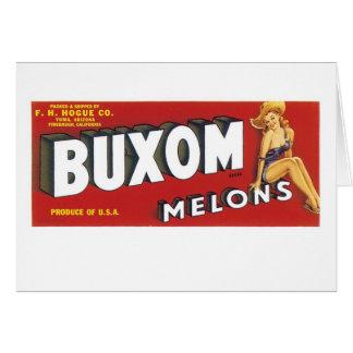 Buxomメロン カード