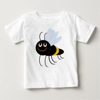BuzzAboutBeesの《昆虫》マルハナバチのベビーの綿のTシャツ ベビーTシャツ
