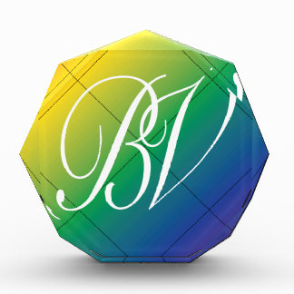BVゲイプライドのロゴ 表彰盾