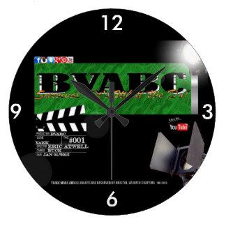 """BVABCの(大きい)円形の柱時計""""ハリウッド"""" ラージ壁時計"""