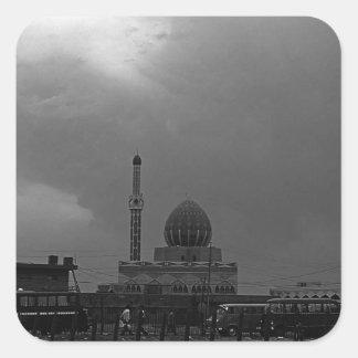 BWイラクバグダッドBuniyaのモスク1970年 スクエアシール