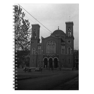 BWギリシャアテネ教会1970年 ノートブック