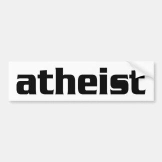BW_atheist2 バンパーステッカー