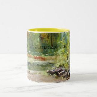 BWCA-Theの池のマグ ツートーンマグカップ