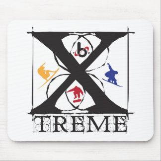 """bXのバレルX限られた""""X"""" Treme マウスパッド"""