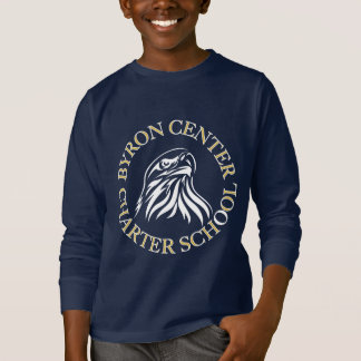 Byronの中心のチャータースクールは長袖のワイシャツをからかいます Tシャツ