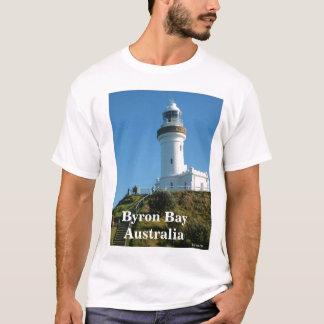 Byronの灯台、クラシックな打撃、Byron BayAustra… Tシャツ