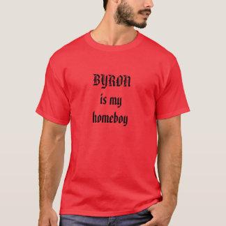 Byronは私の同郷人です Tシャツ
