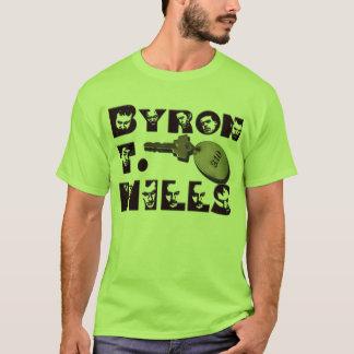 Byron TはTシャツを製粉します Tシャツ