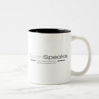 ByronSpeaksのマグ ツートーンマグカップ