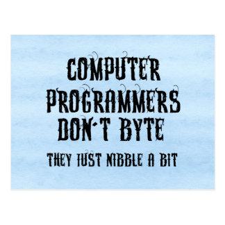 Bytingプログラマー はがき