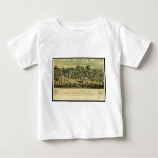 Cの聖職者によって1849年にサクラメント都市カリフォルニア ベビーTシャツ